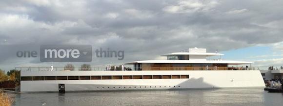 Lo Yacht voluto da Steve Jobs salpa per la prima volta dai Paesi Bassi [Video]