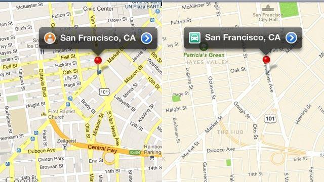 Le mappe su iOS 6 consumano l'80%  di dati in meno rispetto a quelle di Google