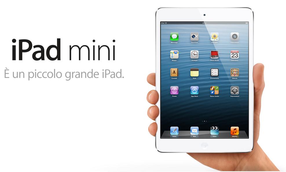 Cominciano le spedizioni dei primi iPad Mini acquistati tramite Apple Store Online