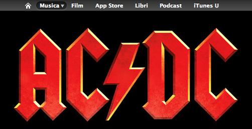 Gli album degli AC/DC da oggi disponibili all'acquisto su iTunes Store