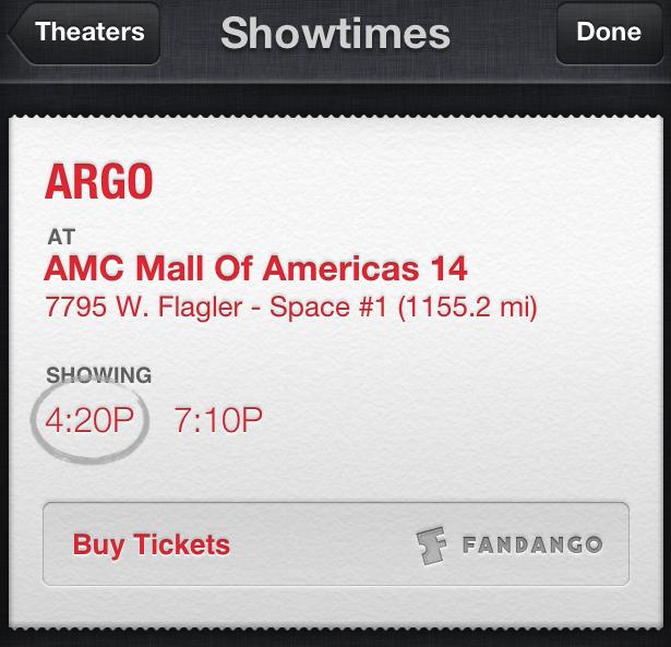 Con iOS 6.1 si potranno acquistare i biglietti del cinema tramite Siri