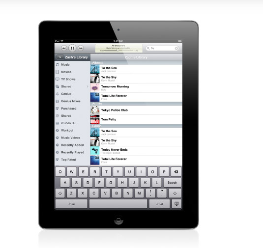ipad-remote itunes 11