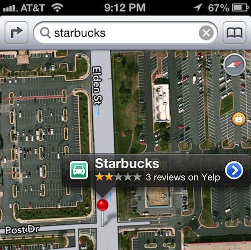Le Mappe di iOS 6.1 beta: per ora nessun miglioramento