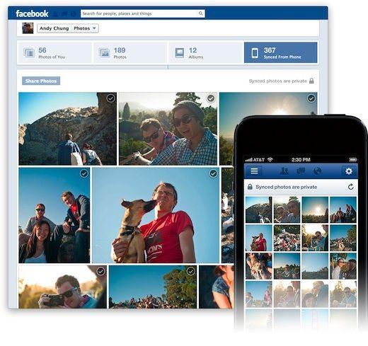 Ufficialmente disponibile a tutti la nuova funzione di caricamento automatico delle foto per Facebook