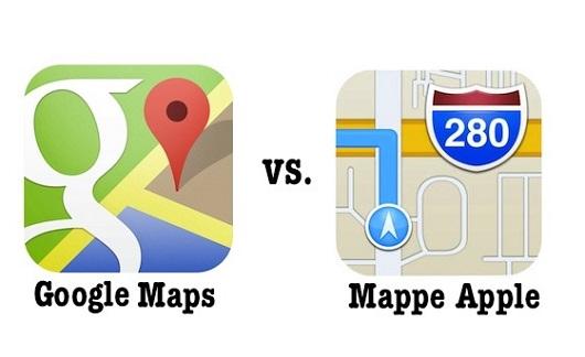 Il CEO di Google dichiara: le nostre mappe sono molto più apprezzate ora grazie ad Apple