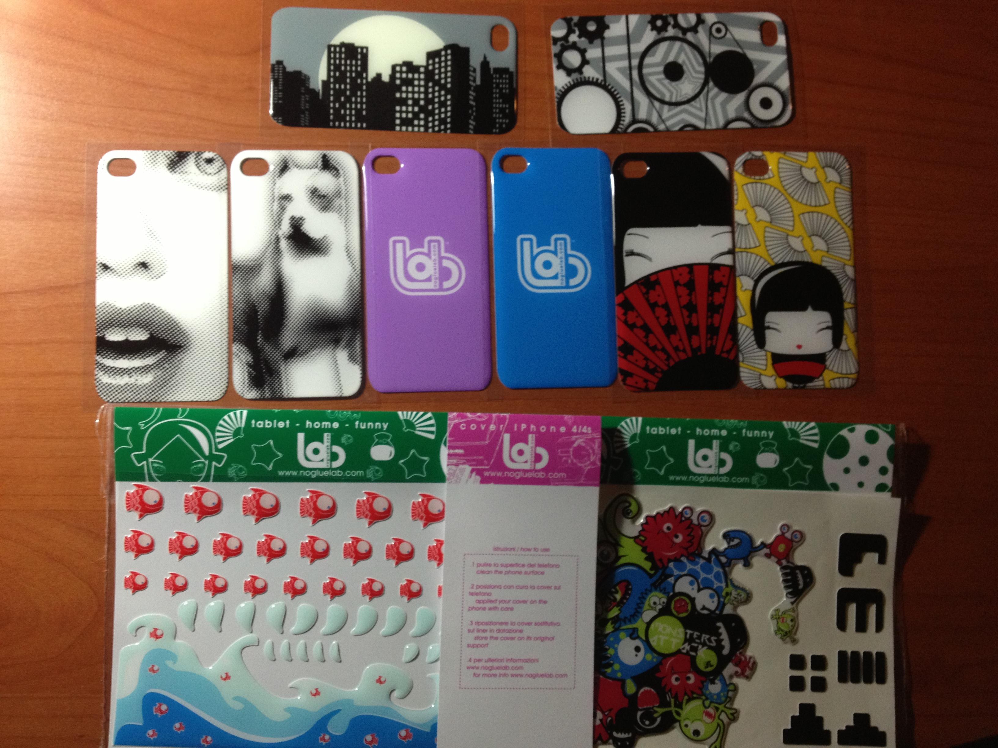 Cover per iPhone 4/4S by NoGlueLab: le cover intercambiabili e senza adesivi | Product Review