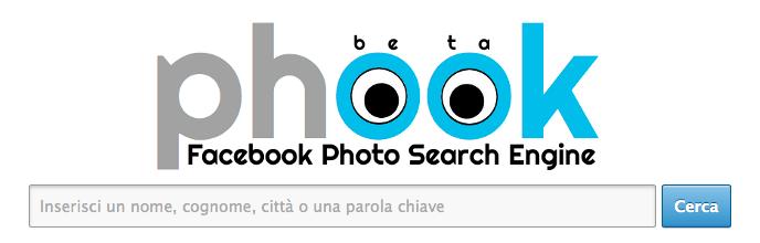 Phook, la web-app che si integra perfettamente con Facebook