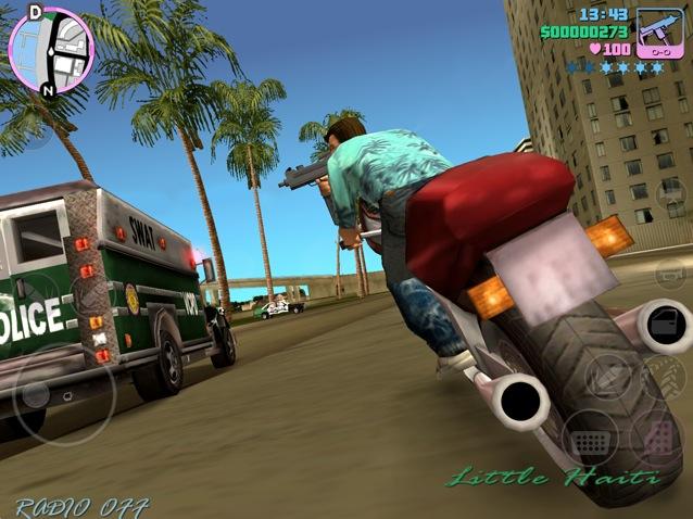 Ecco le prime immagini in anteprima di GTA Vice City per iOS