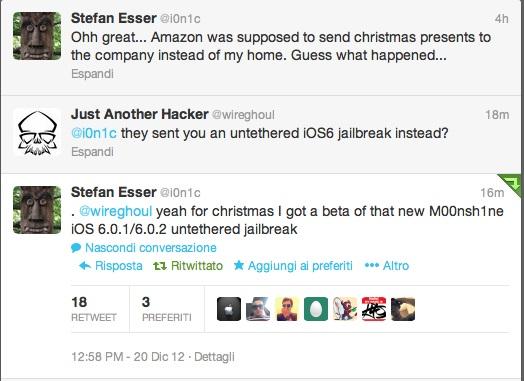 iOS Jailbreak Untethered