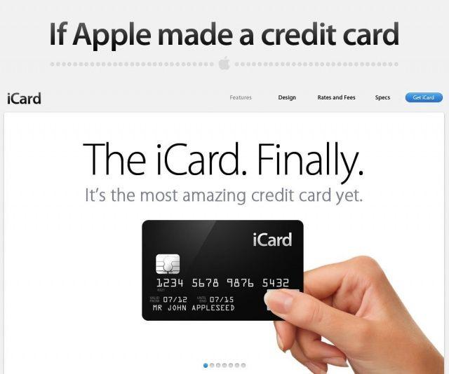 iCard: ecco la carta di credito Apple [Concept]
