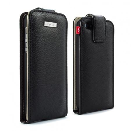 Lo schermo dell'iPhone 5 protetto da una placchetta di alluminio grazie alla custodia in pelle di Proporta   Product Review