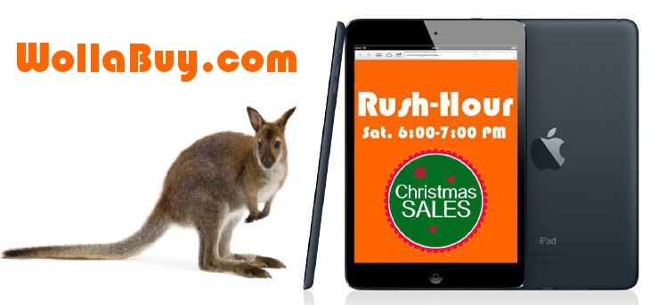 Ogni sabato fino a Natale, diversi prodotti a prezzi vantaggiosi da WollaBuy