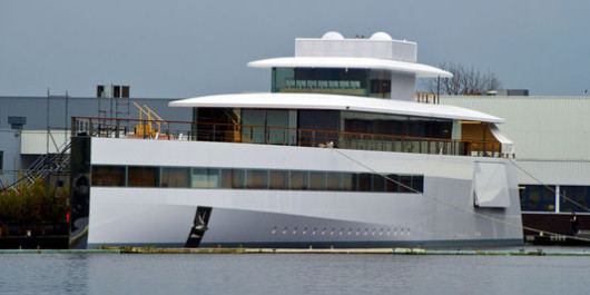 Avvistato alle Canarie lo yacht voluto da Steve Jobs