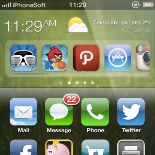 iOS 7: ecco come potrebbe essere grazie al supporto dei widget | Concept