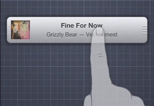 iOS MiniPlayer