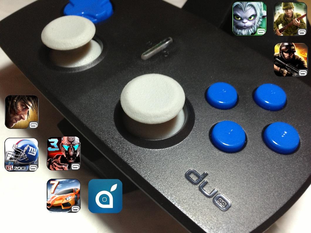 Duo Gamer: fantastico Joypad per iPhone, iPad ed iPod touch   iSpazio Product Review [Aggiornato con offerta]