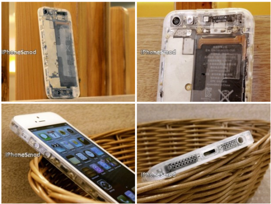 iphone 5 mod trasparente