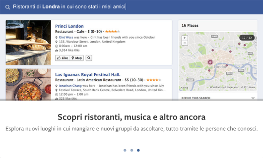 ispazio facebook graph search 2
