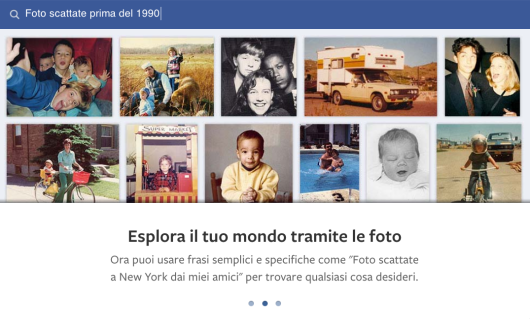 ispazio facebook graph search foto