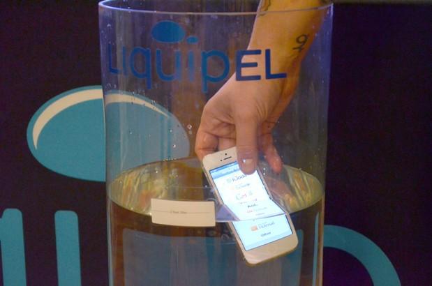 Liquidpel 2.0: il rivestimento che rende gli iPhone completamente impermeabili