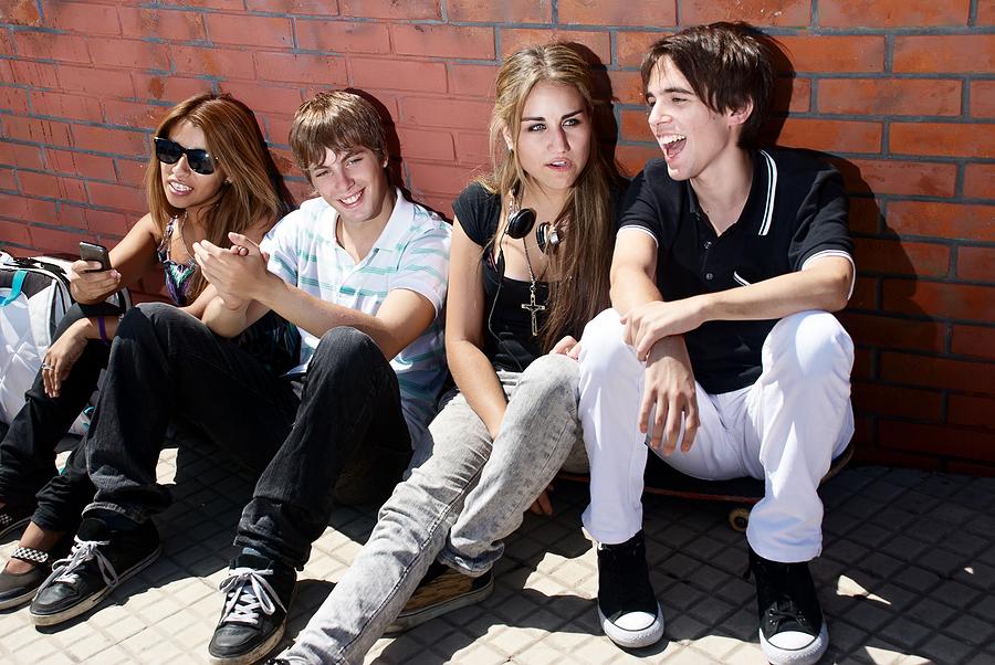 teenager smartphonbe