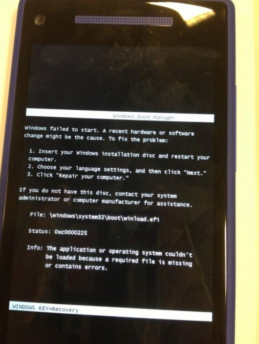 wp8 blue screen 2