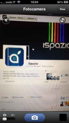 ispazio facebook video