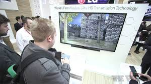 [MWC] LG mostra lo streaming wireless 4K da smartphone a TV