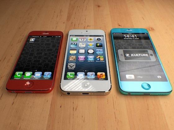 iPhone 5S ed iPhone low-cost: due nuovi concept mostrano come potrebbero essere