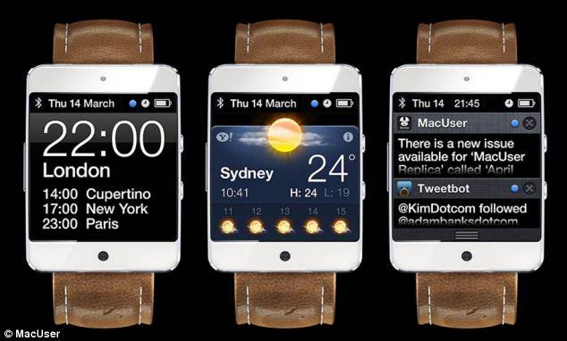 E' già iWatch mania: ecco un nuovo concept del probabile smart-watch di Apple