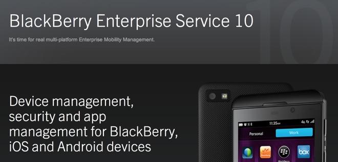 RIM punta sul software aziendale per dispositivi concorrenti iOS e Android