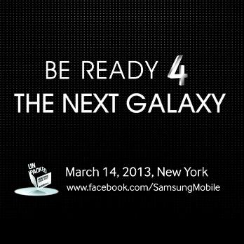 Nuovo teaser di Samsung Galaxy S4: 'Sarà il prodotto più spettacolare da quando sono state annunciate le prime TV a colori' [Video]