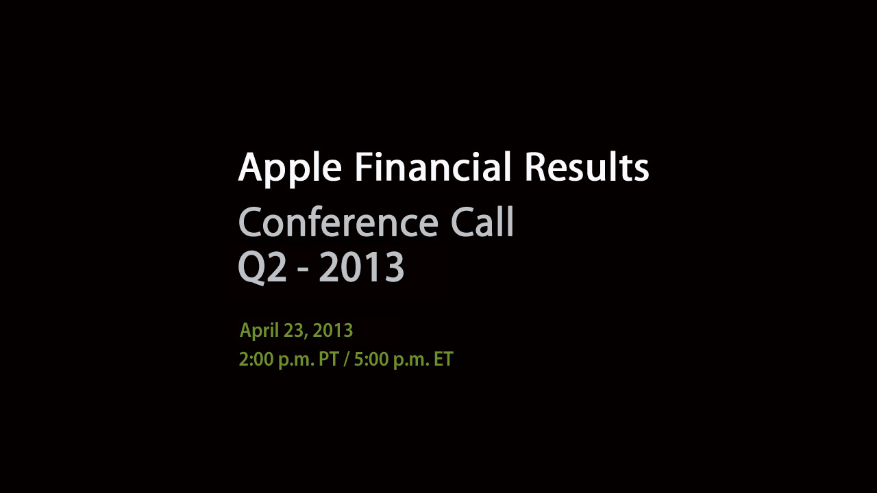 conference call apple