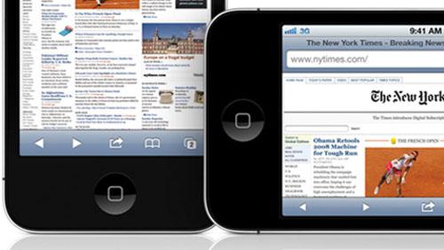 Safari Mobile domina le classifiche sull'uso di internet in mobilità