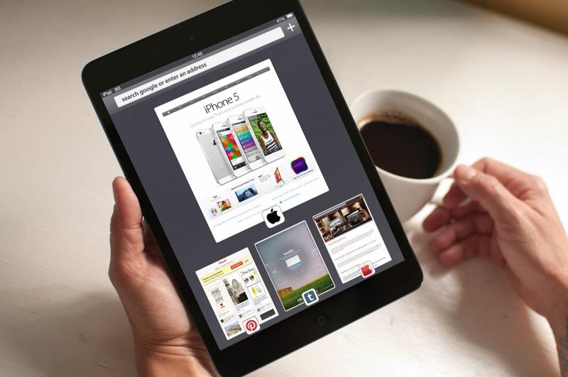 Ecco come potrebbe essere Safari Mobile su iOS 7 in un nuovo concept