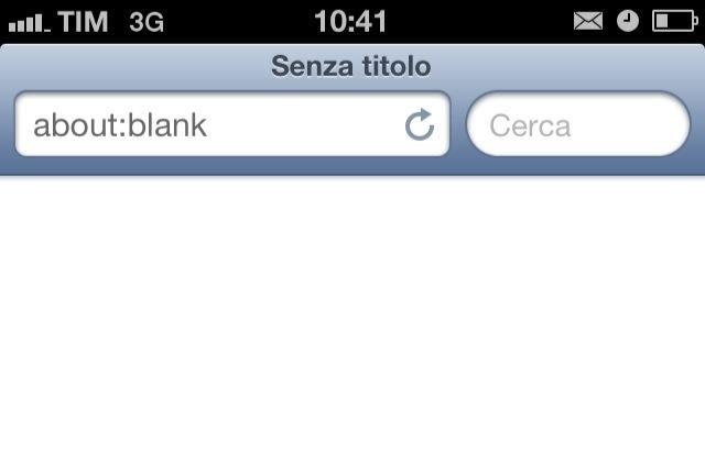 Rendiamo più veloce l'avvio di Safari con SafariBlankPage, ma anche per chi non ha un dispositivo jailbroken | Cydia
