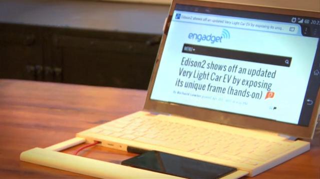 Casetop: trasformiamo il nostro iPhone o dispositivo Android in un vero e proprio portatile [Video]