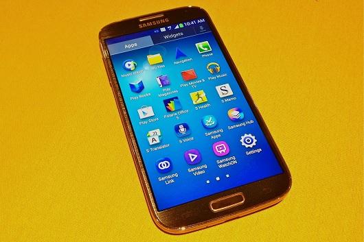 Blurring ed inversione dei colori per molti display di Samsung Galaxy S4 [Video]