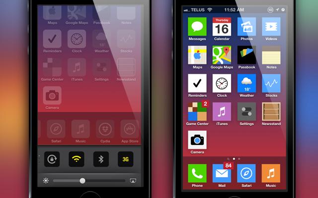 Diamo un tocco di ios 7 al nostro iphone con questo nuovo for Essere minimalisti