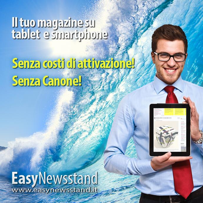 EasyNewsstand: la rivoluzione Free dell'editoria mobile