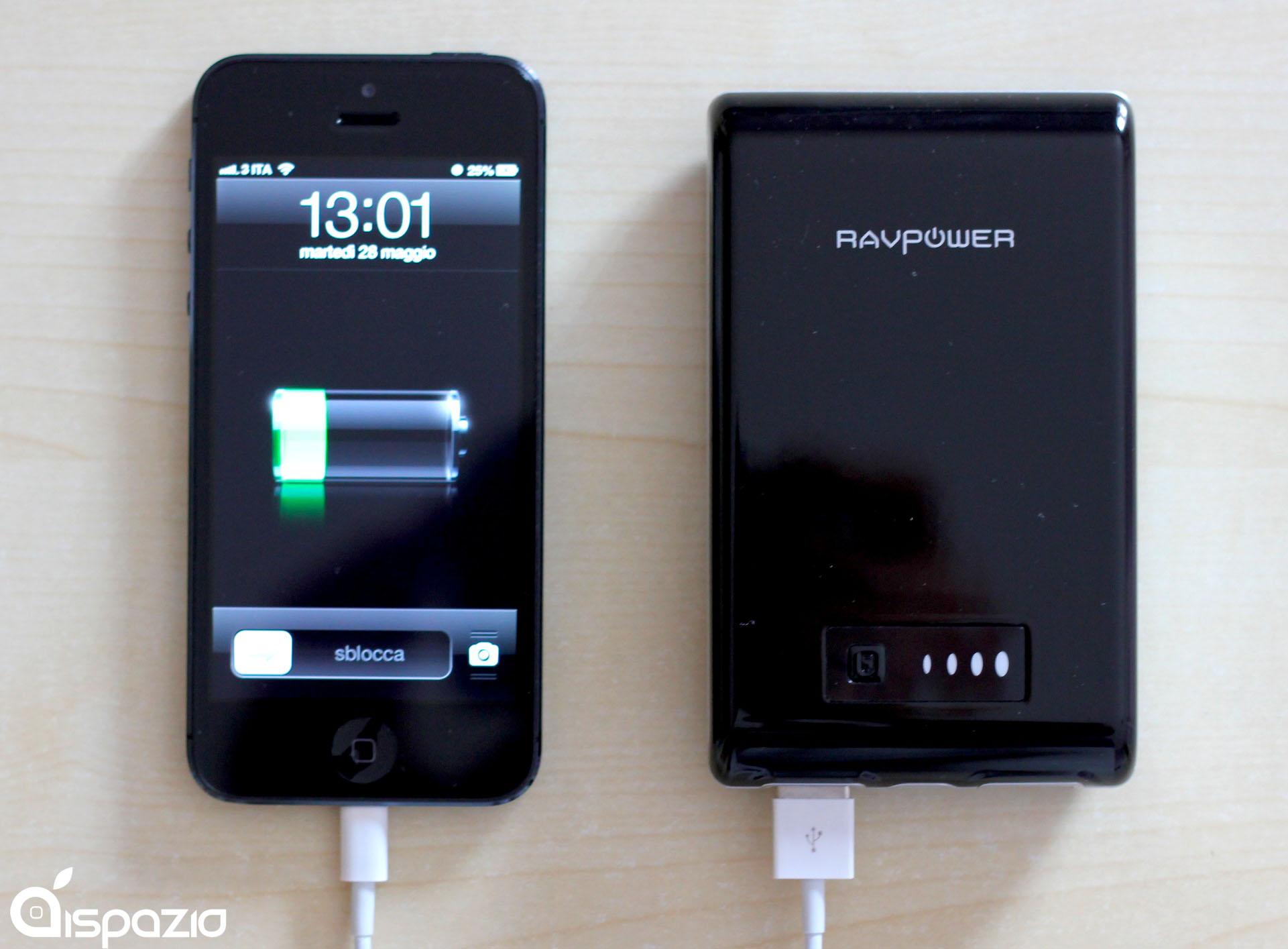 RAVPower Dynamo On The Go: la batteria esterna da 10400 mAh per non rimanere mai senza carica | iSpazio Product Review