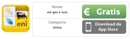 SCARICA APP DI ENI GAS E LUCE