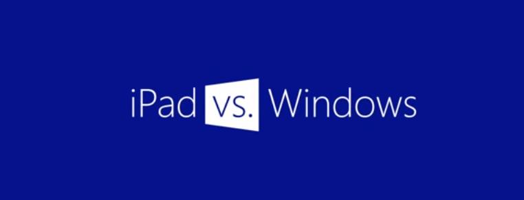 Microsoft prende in giro il papà di tutti i tablet: iPad non può farlo [Video]