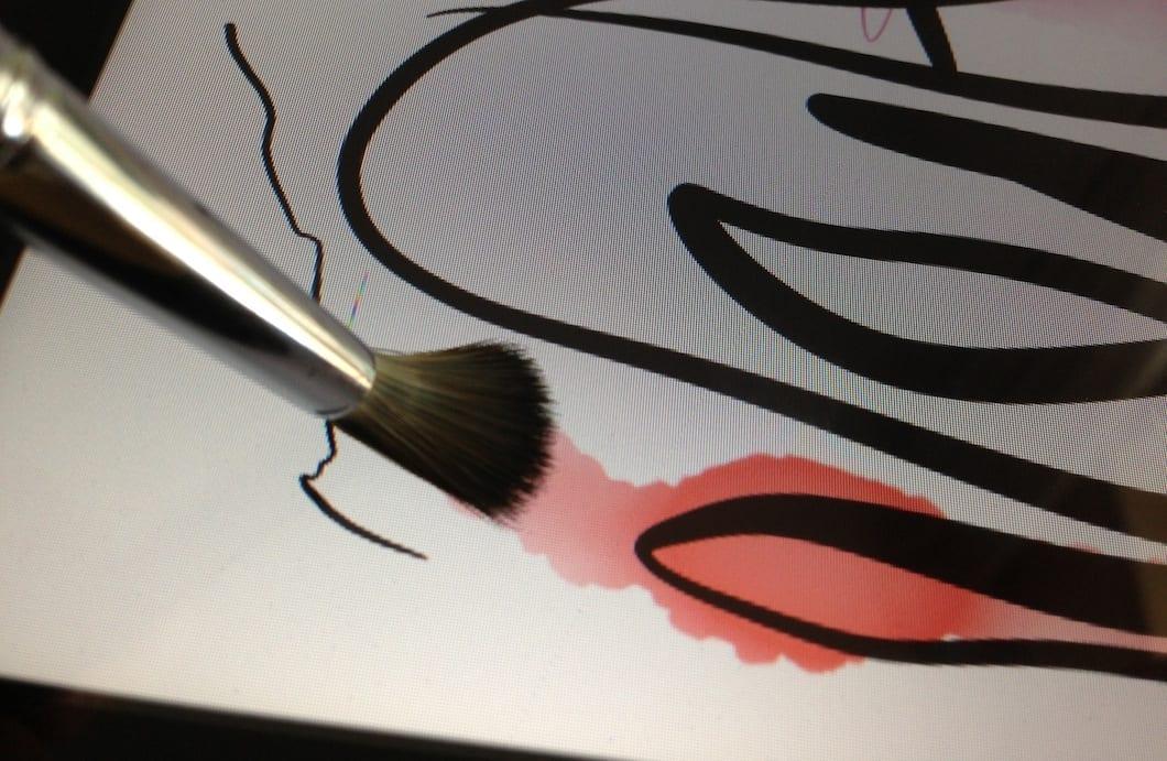 Sensu Brush: Dipingere su iPhone, iPad e qualunque dispositivo con un vero pennello [in sconto ORA su Amazon]
