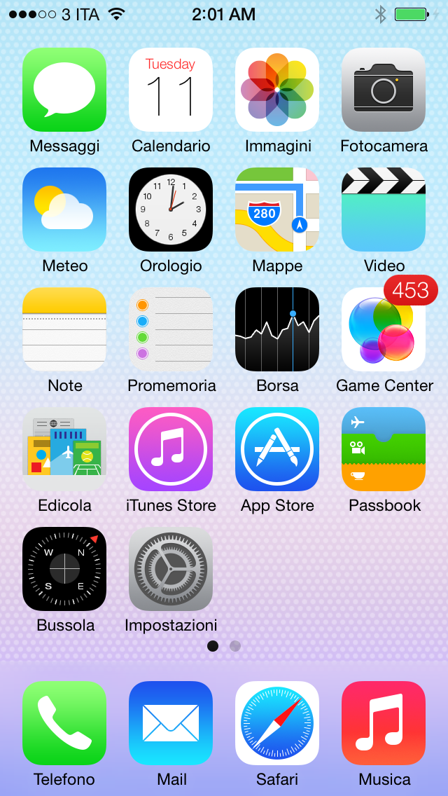 iphone home screen ios 7 installazione primo contatto e tutte le novit 224 11929