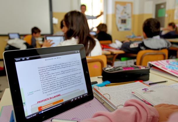 Mele a scuola con l'ipad 23/10/2012