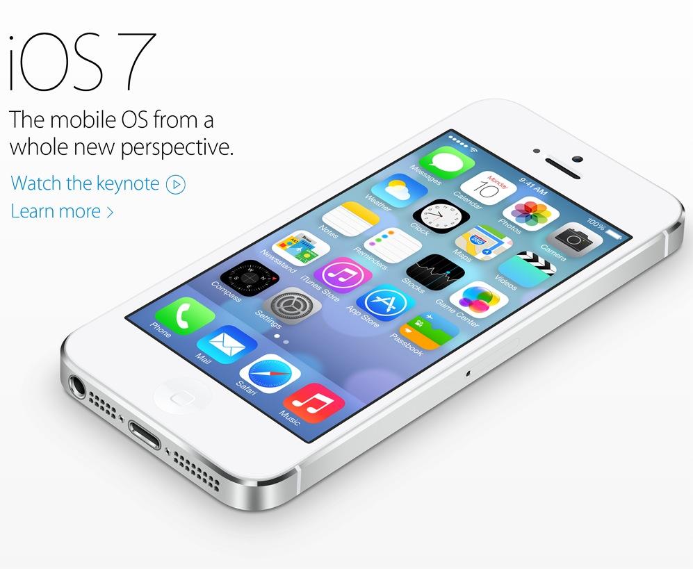Apple svela iOS 7: Ecco il comunicato stampa completo