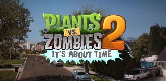 Plants Vs Zombies 2: svelato il nuovo capitolo con uno spettacolare trailer [Video]