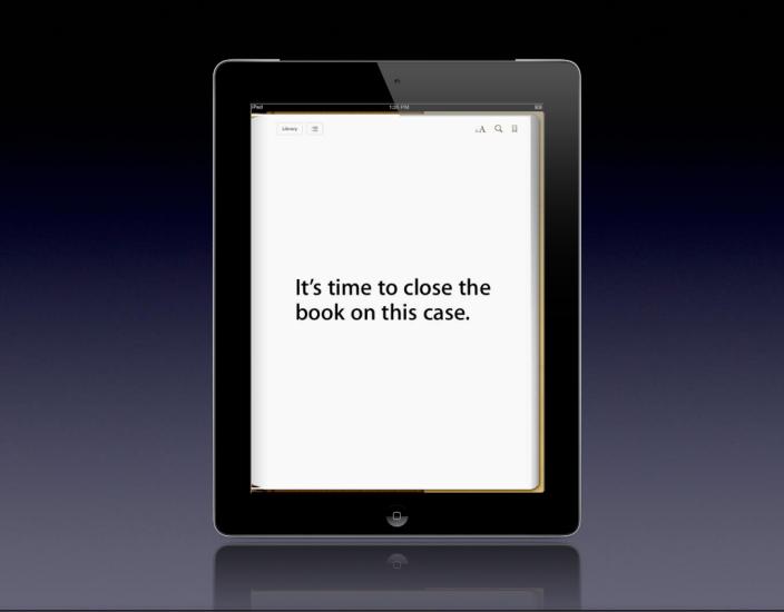 Apple presenta gli argomenti di chiusura per il processo riguardo la fissazione dei prezzi degli e-book
