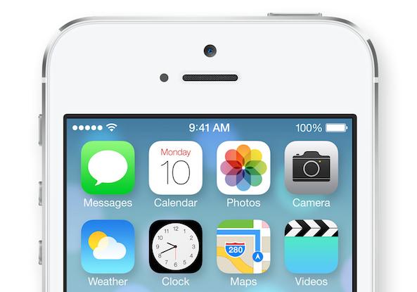 L'icona dell'Orologio di iOS 7 è animata e mostra finalmente l'ora esatta